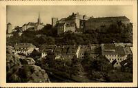 Bautzen Sachsen Postkarte ~1910/20 Teilansicht mit Schloß Ortenburg und Seidau