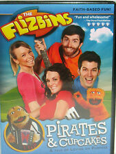 The Flizbins: Pirates & Cupcakes New DVD Sing Alongs Family Faith Kids Music