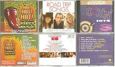 3 CD Lot - Various Artists - Rock Pop Oldies - Party Road Trip Music