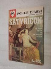 SATYRICON Le dolci notti di un romano antico Petronio SEA Poker d assi 10 1967