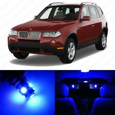 13 x Error Free Blue LED Interior Light Package For 2004-2010 BMW X3 Series E83