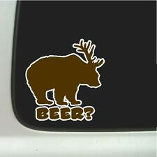 BEER?  Car Decal Laptop Sticker Funny Car Decal Truck Sticker