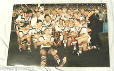 HUGE  2002  SYDNEY ROOSTERS RUGBY LEAGUE  GRANDFINAL TEAM PHOTO