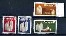 CANADA - 1972 - NATALE, candele natalizie