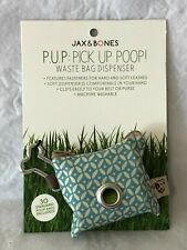 New listing Jax & Bones P.U.P. Waste Bag Dispenser for Leashes Holds 30 Bags