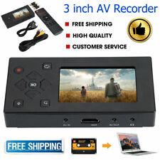3inch VHS Camcorder Hi8 Tape Converter USB Audio Video Capture Recording Player