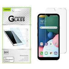LG Phoenix5 Risio 4 k8x K31 Aristo 5 Tempered Glass Screen Protector Guard Clear