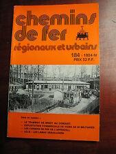 Chemins de fer secondaires 184 1984 Brest Le Conquet Kerjean Appenzeller Bahnen