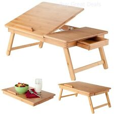 Laptop Table Desk Portable Stand Notebook Computer Foldable Bed Breakfast Tray