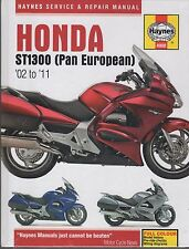 2002-2011 HAYNES HONDA MOTORCYCLE ST1300 (PAN EUROPEAN) SERVICE MANUAL  (4908)