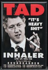 """TAD Inhaler Concert Poster 2"""" X 3"""" Fridge Magnet. Soundgarden Weed 420"""