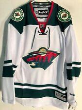 Reebok Nhl Premier Minnesota Wild Team Jersey Men'S Size Large New $100