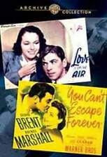 LOVE IS ON THE AIR/YOU CAN'T ESCAPE FOREVER NEW DVD