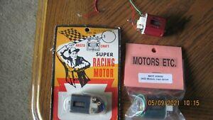 3 new motors.