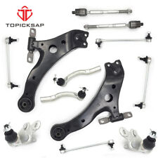 12pc Front Lower Control Arm Tie Rods for 2007 2008 2009 2010 2011 Toyota Camry