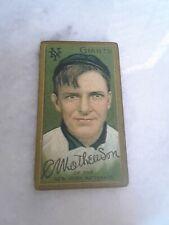 1910 Christy Mathewson RP Tobacco Card