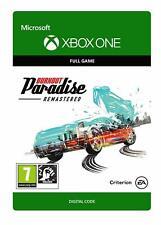 Burnout Paradise Remastered - XBOX ONE *CD-KEY Digital Download* 🔑🕹🎮