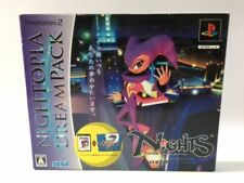 Playstation 2 PS2 NiGHTS into Dreams... Nightopia Dream Pack Japan JP Game z3029