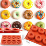 Silicone Donut Doughnut Candy Jelly Pan Chocolate Soap Cake Mold Baking Mould