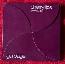 Garbage – Cherry Lips (Go Baby Go!) brown cd promo TRASH40 Italian SIAE