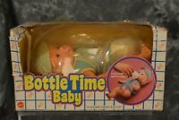 Mattel 1984 Bottle Time Baby 10 inch doll NRFB W/ FREE SHIPPING