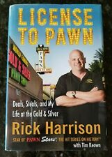 License to Pawn by Rick Harrison (2011) Stated First Edition/ 3rd Print VG+