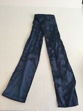 """LOT Of 19 Navy Blue Satin Chair Sashes Bows One Size 104"""" LONG"""