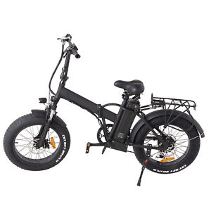 "Electric Bike Foldable Bike with Fat tire 250W Battery 36V10Ah 16"" Green Power"