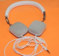 GENUINE!! HARMAN KARDON SOHO-A WHITE WIRED ON-EAR STEREO HEADPHONES