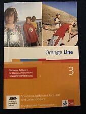 Orange Line 3: 7. Kla. Standardaufgaben mit Audio-CD + Lehrersoftware KLAUSUREN