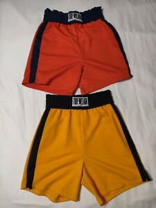"""(2 Pcs) Tuf Wear Made in US Boxing Shorts Men's L (Unstretched 28"""" x 6.5"""") L:19"""""""