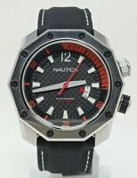 Orologio Nautica A34017 oversize watch 48 mm clock diver 200 meters watch diving