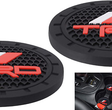 Car Interior Accessories for TRD PRO Cup Holder Insert Coaster Silicone Antislip