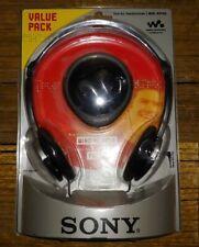 New Sony Walkman MDR-RSPKG headphones earbuds earphones set 2pc value pack