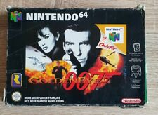 GOLDEN EYE 007 (NINTENDO 64, 1997) COMPLET PAL FR JEU + MANUEL + BOÎTE