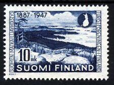 Finlandia 1947 60th. ANNIVERSARIO della società TURISTICHE SG 275 Gomma integra, non linguellato