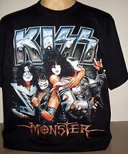 Kiss Monster Calidad Superior Camiseta Talla S M XL 3XL! nuevo! banda de rock XXXL GEN Paul