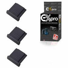 Ex-Pro Fuji Finepix 3Pack Hot Shoe cover - Fuji FinePix X10 X20 X100, X100s X-E1
