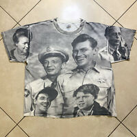 Vintage 90's Andy Griffith Show All Over Print T-Shirt XL VTG 1992 Mayberry USA