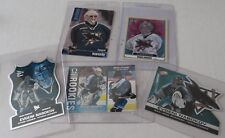 Hockey cards  Rookie Brad Stuart Evgeni Nabokov San Jose Sharks 5 card lot NHL