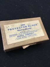 Western Electric Protector Block No 26 New