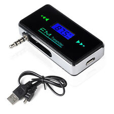 Wireless FM Transmitter 3.5mm Radio Adapter Car Charger fr Samsung Galaxy Note 2