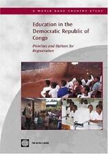 Education in the Democratic Republic of Congo: Priorities and Options for