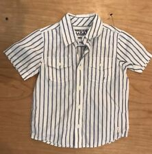 NWT 77 Kids By American Eagle Button Up Collared Shirt Size 2 Years