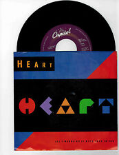 Heart 45 rpm Record and Picture Sleeve'' All I Wanna Do Is Make Love To You''