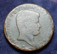 1835 REGNO Delle DUE SICILIE   Ferdinando  II  10  Tornesi