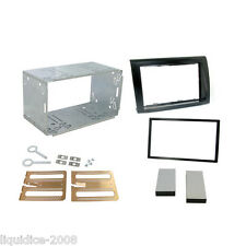 CT23FT05A FIAT BRAVO 2007 DOUBLE DIN FASCIA FACIA ADAPTER PLATE KIT