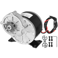250W DC Electric Motor 24V 2700RPM Gear ratio 9.7:1 Compatible Minibike Bicycle