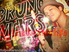 Schönes sexy Poster Bruno Mars wow hot singer Rückseite Big Time Rush nice Band