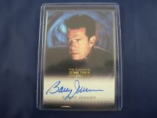 """Complete Deep Space Nine DS9  A26 Barry Jenner """"Admiral Ross"""" Autograph Card"""